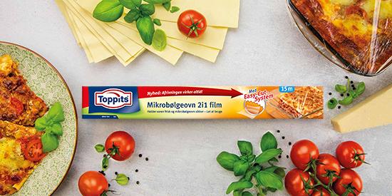 Toppits® Mikrobølgeovn 2i1 film