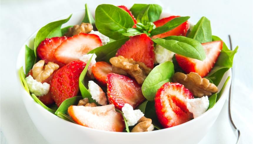 Plastfolie holder salaten friskere længere