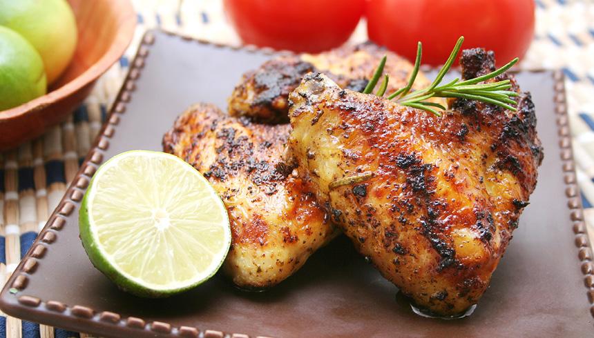 Grillet kyllingebryst med rosmarin