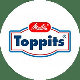 Toppits® logotype fra 1988